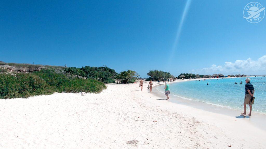 Recorriendo Baby Beach Aruba