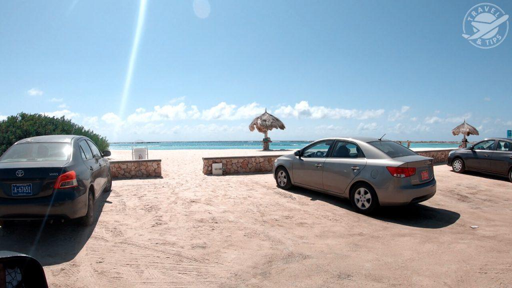 Parking en Baby Beach