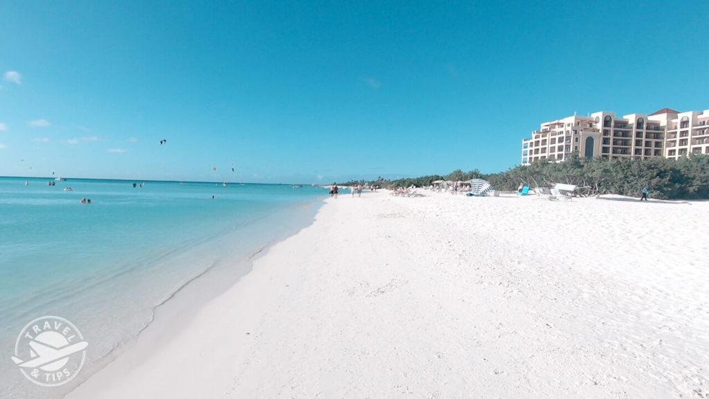 Playa frente al Ritz